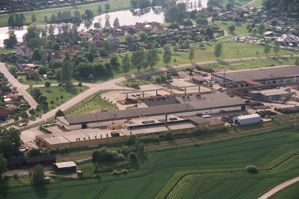 The factory from above