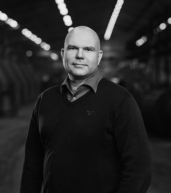Porträtt på Joachim Törnfeldt